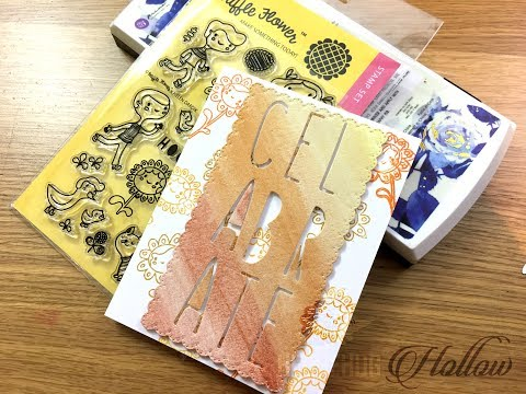 Watercolor cardmaking = plus a crafty hack to how to create custom sizes with your current dies