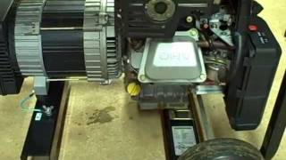 Small Engine Repair: Oil Change, Check RPM, Voltage, Frequency on Briggs & Stratton Generator