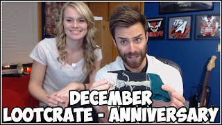 Loot Crate Opening - December 2014 - ANNIVERSARY! With Shady Lady!