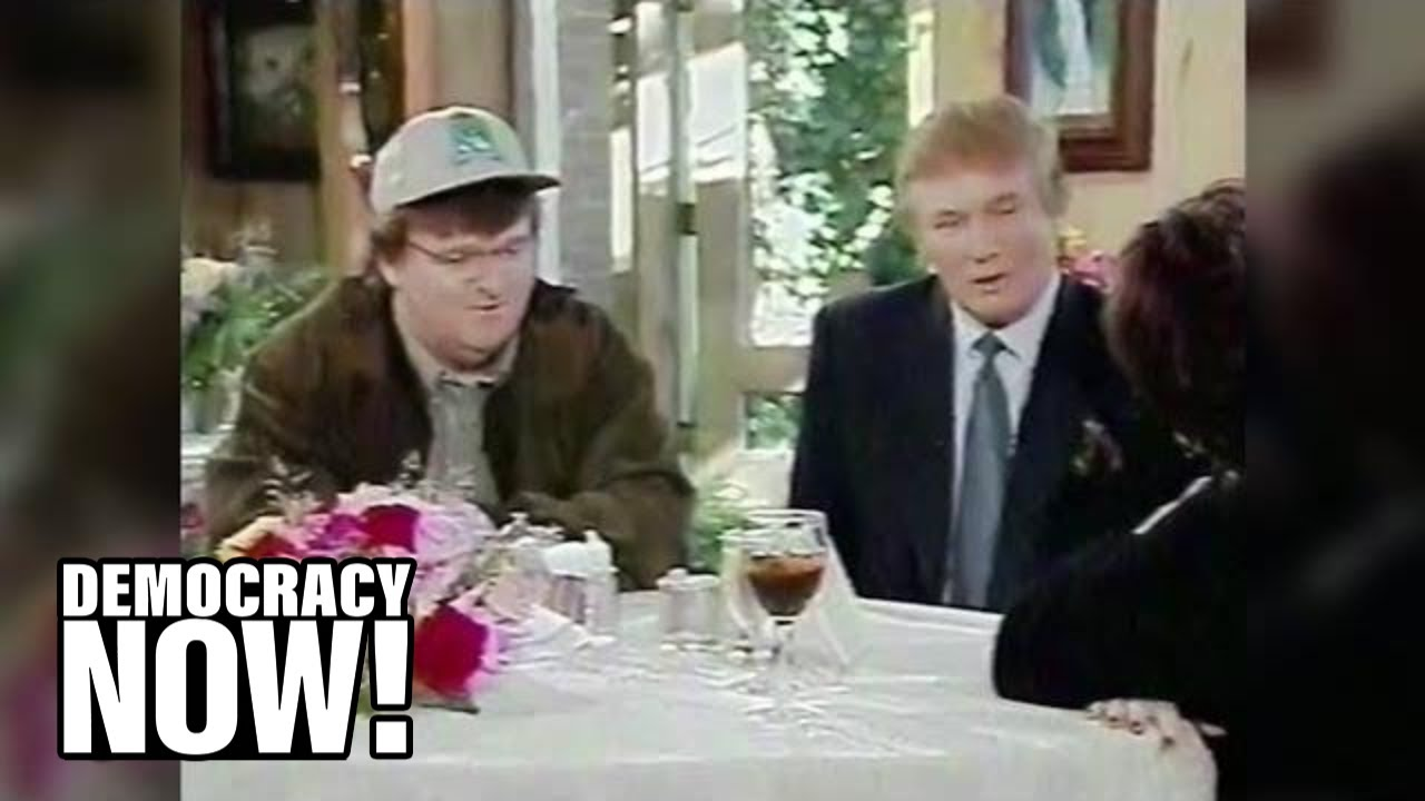 Trump Warned Michael Moore Not to Make a Film About Him in 1998 Interview on Roseanne Show