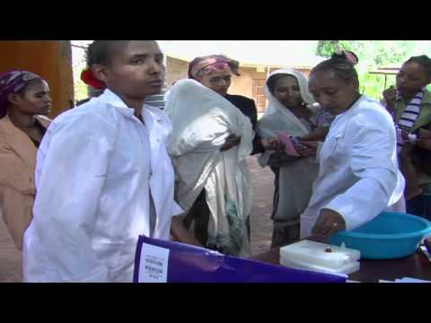 UNICEF: National vaccination campaign in Ethiopia