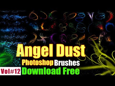 Angel Dust Brushes Effect For Photoshop Download Free Vol#12 [desimesikho] 2018