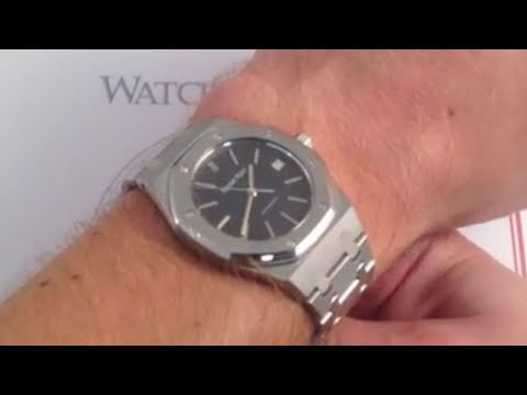 Audemars Piguet Royal Oak 14790ST Luxury Watch Review