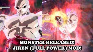 MONSTER RELEASED! Jiren (Damaged Full Power) VS Goku (Ultra Instinct) - Dragon Ball Xenoverse 2 Mods