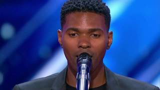 """[Engsub/Vietsub] American's Got Talent Bản cover """"I have nothing"""" cực hay của chàng trai gây sốt."""