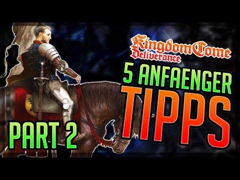 PART 2: 5 ANFÄNGER TIPPS Kingdom Come: Deliverance Beginner Tips - Einsteiger Tipps & Tricks