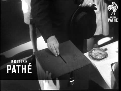 German Federal Election Scenes AKA Federal Elections (1961)