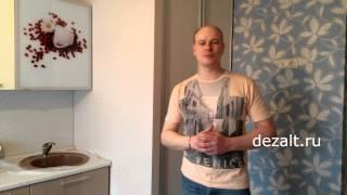 Распашные алюминиевые двери, вставки ЛДСП(, 2015-05-04T13:43:41.000Z)