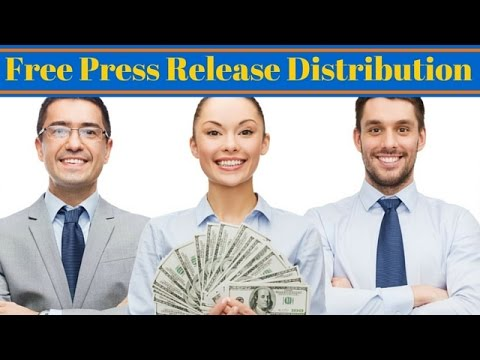 Free Press Release Distribution - Find Out Where To Submit Your Press Releases