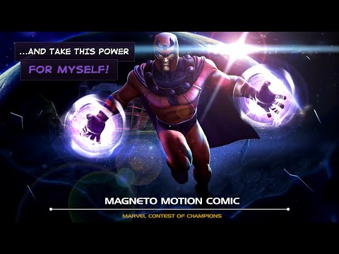 Magneto Motion Comic | Marvel Contest of Champions