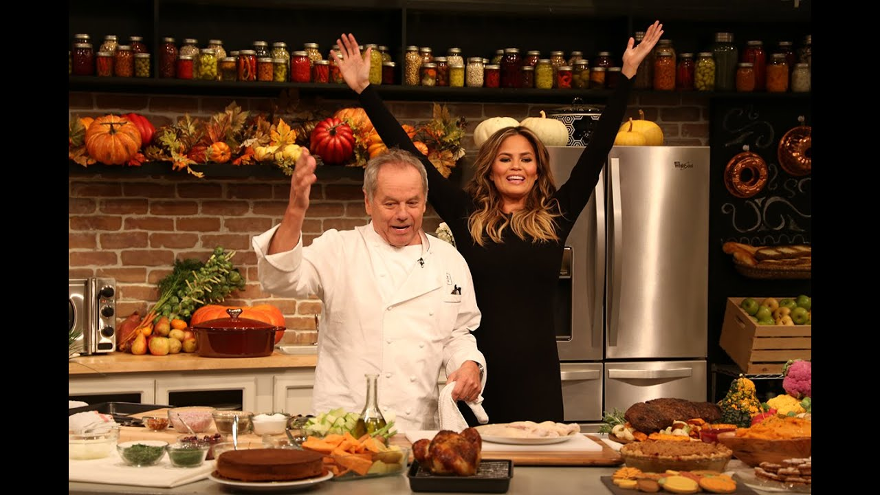 Chrissy Teigen And Wolfgang Puck S Thanksgiving Recipes Youtube