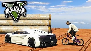 GTA V Online: BMX vs ZENTORNO - BATALHA do DIBRE!!!