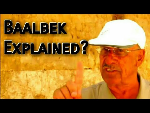 Baalbek Lebanon Ancient Mystery of the Megaliths