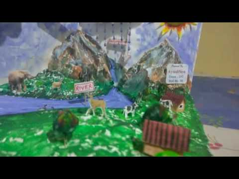 how to make working model of water cycle