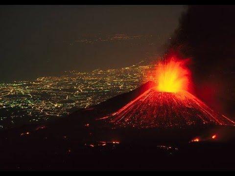 Сила вулкана Извержение