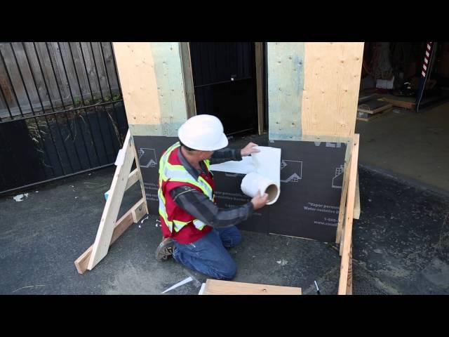 DELTA®-VENT SA - Window Installation Details #1 (long)