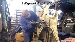 Peugeot  Body repair  Ремонт кузова