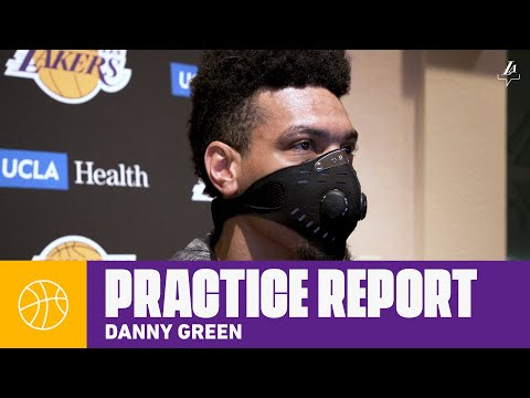danny-green-talks-about-the-team-chemistry,-and-getting-back-in-to-a-rhythm-|-lakers-practice