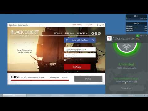 [HOW TO] Black Desert Online IP Block Bypass from Philippines