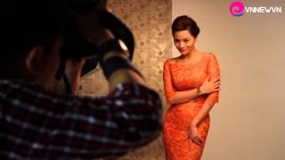 Hậu trường buổi chụp hình Vũ Thu Phương tại Studio Quốc Huy [Vnew.vn thực hiện]