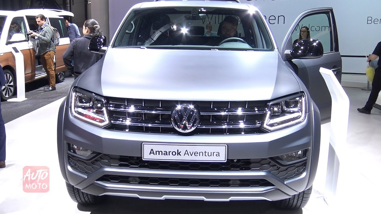 2020 Volkswagen Amarok Aventura Exterior And Interior Debut At Geneva Motor Show 2019 Youtube
