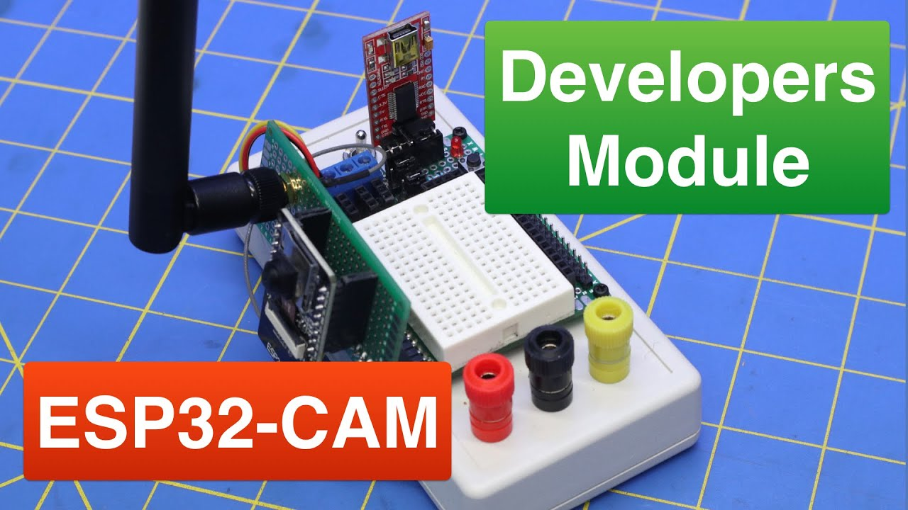 Build an ESP32-CAM Developers Module with Power Supply