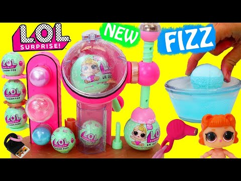 NEW LOL Surprise BATH FIZZ MAKER LOL Doll Bath Bombs DIY + Brand New Surprise Accessory Lil Sisters