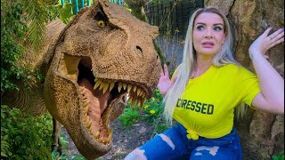 T-REX Chased Me In The Park! Short Movie