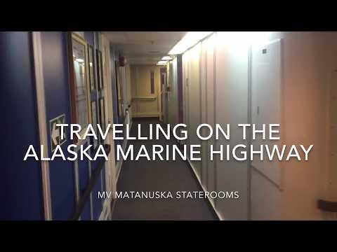 Alaska Marine Highway MV Matanuska stateroom