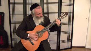Chopin Marche Funebre for guitar - Eyal Zeidman