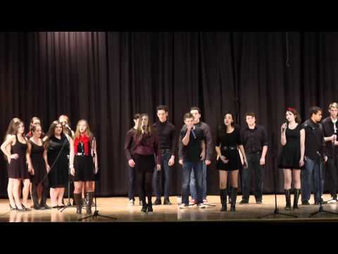 Shoreham Wading River Vocal Express At Centereach High School's 10th Annual Acapella Invitational