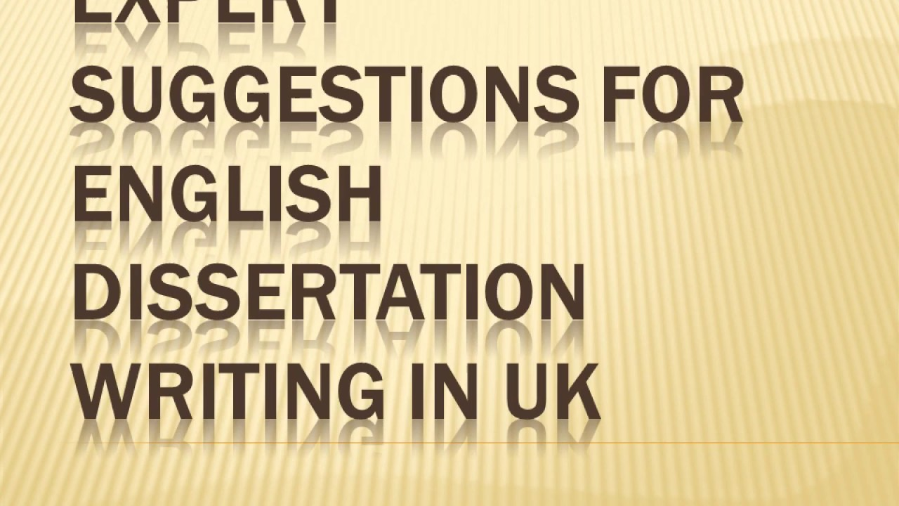 english dissertation suggestions About us in the film and media studies program, students explore the theory and history of cinema and television, analyze aesthetics and production of multiple media forms, and also work in the production of film, video, and digital media.