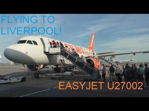 FULL FLIGHT! EASYJET AIRBUS A319 G-EZFC U27002 AMSTERDAM - LIVERPOOL!
