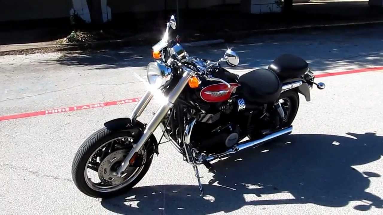 2008 Triumph Speedmaster For Sale