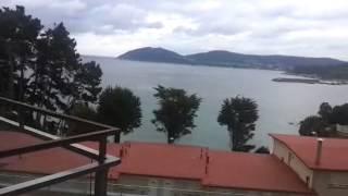Hotel Thalasso Cantabrico Las Sirenas de Viveiro  Vistas desde la habitación en la segunda planta