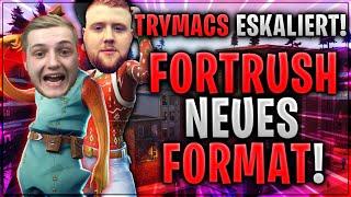 🤬🤣 TRYMACS & MCKY ESKALIEREN! Fortrush neues FORMAT | Fortnite Battle Royale