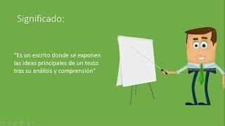 Qué Es Y Cómo Hacer Una Síntesis Diferencias Con El Resumen Pedro Nel Burgos Hernández