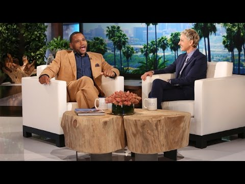 Anthony Anderson on Co-Star Tracee Ellis Ross