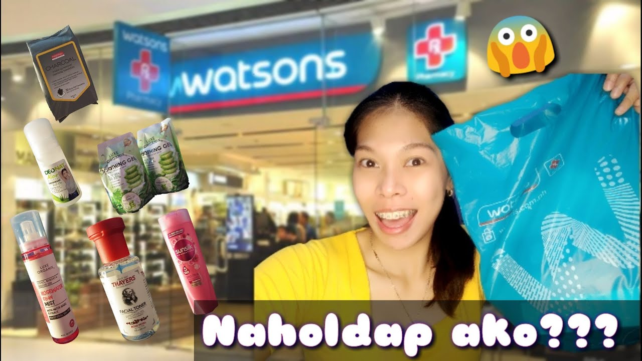 QUICK WATSON'S HAUL|| TIPID EDITION|| KATE LIMOS