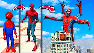 Upgrading SPIDER-MAN Into SPIDER GOD In GTA 5.. (Mods)