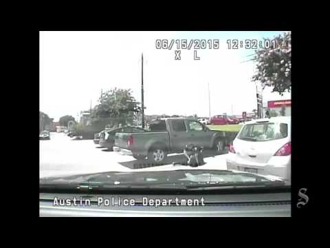 Dashcam: Violent arrest of Austin school teacher Breaion King