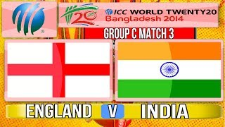 Video (Cricket Game) ICC T20 World Cup 2014 - England v India Group C Match 3 download MP3, 3GP, MP4, WEBM, AVI, FLV Oktober 2017