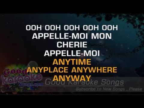 Call Me - Blondie (Lyrics Karaoke) [ goodkaraokesongs.com ]