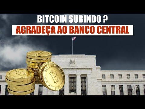 BITCOIN Subindo? Agradeça Ao Banco Central Dos EUA! Rumo Aos $100 Mil