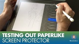 Trying out PaperLike iPad Screen Protectors