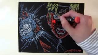 how to draw naruto rasengan - Speed Drawing Naruto Rasengan