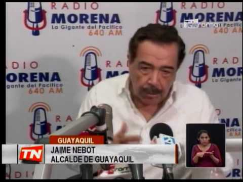 Nebot a favor de juicio político por caso Odebrecht