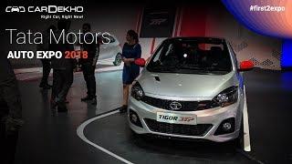 Tata Motors at Auto Expo 2018 | Tata H5X, Tata Nexon AMT