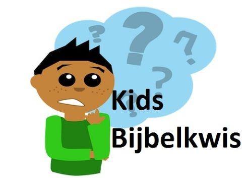 Magnifiek De Bijbel voor Kids - Kids Bijbelkwis quiz - YouTube &LL46