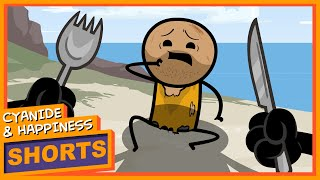 Deserted Island - Cyanide & Happiness Shorts